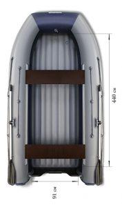 Лодка ПВХ Флагман DK 500 Jet НДНД надувная под мотор