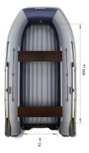 Лодка ПВХ Флагман DK 550 Jet НДНД надувная под мотор