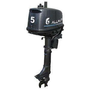 Фото мотора ALLFA CG T5 с баком (5 л.с., 2 такта)